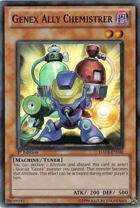 Yu-Gi-Oh Yugioh Genex Ally Chemistrer HA04-EN036 Super 1st Near-Mint!