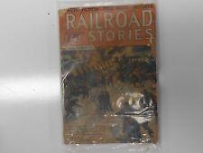 VINTAGE DEC 1935 RAILROAD STORIES BOOK