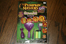 New Pumpkin Masters Kids Glow in the Dark Carving Kit for Pumpkins Carve& Paint