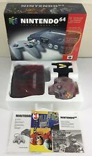 Nintendo 64 N64 Gaming System Console 100% COMPLETE IN BOX CIB Nr Mint Unused