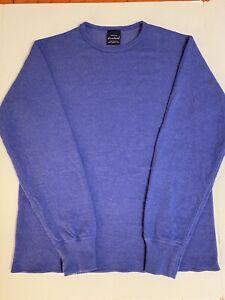 Duofold Women's Mid Weight Wicking Thermal Shirt, Blue Medium EUC