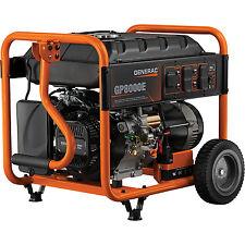 Generac  6954 GP8000E 8000 Watt Electric Start Portable Generator