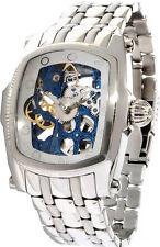 Invicta 1092 Men's Lupah Mechanical Blue Skeleton Dial Bracelet Watch