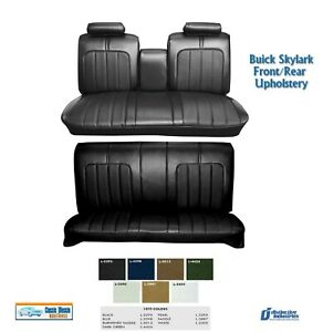 1970 Skylark Front/Rear Bench Seat Upholstery in Your Choice of Factory Color