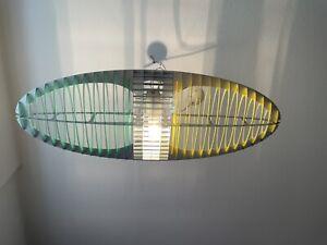 Hängeleuchte Titania von Luceplan , Top mit Filter und Leuchtmittel