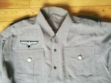 Wehrmacht chemise allemande ww2 german shirt wk2 duitse deutsche helmet casque