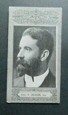 1901 Cigarette Card American Tobacco Company ATC Australian Parliament Deacon