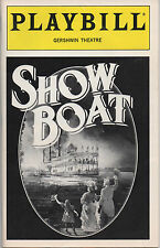 1995 Playbill SHOW BOAT Elaine Stritch Marc Jacoby