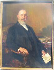 Riccardo GALLI (Milano 1869–1944) Ritratto del Commendator Cesare Goldmann 1931