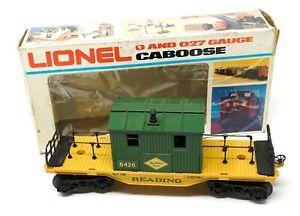 Lionel Reading Maintenance Caboose Model 6-6426 w/ Box