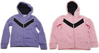 Danskin Girl's Zip Up Hoodie Track Jacket Choose Your Size & Color Purple Pink