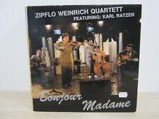 LP /  Zipflo Weinrich Quartett Featuring: Karl Ratzer – Bonjour Madame / RAR /