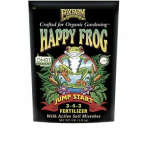 Fox Farm Happy Frog Jump Start 4 lb fertilizer Mycorrhizae Humic Acid FoxFarm