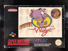 Super Widget FAH Snes Super Nintendo