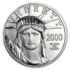 2000 1/2 oz Platinum American Eagle Coin - Brilliant Uncirculated - SKU #7247