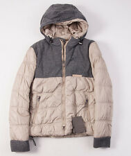 NWT $1250 BALLANTYNE Cashmere-Trimmed Reversible Hooded Down Jacket S/46 Italy