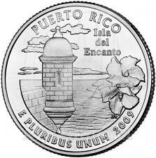 2009 * Quarto di dollaro Stati Uniti Puerto Rico (P)