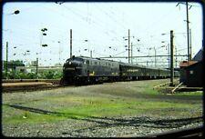 Railroad Slide Conrail CR 4020 Office Car Special Harrisburg 1986