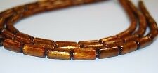 Golden Coral  IrregularTube Loose Beads 15.5'' Long Size 5x12mm/7x16mm