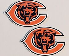 2x Chicago Bears Car Bumper Laptop Phone Vinyl Die Cut Sticker Decal