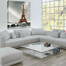 Modern Abstract Eiffel Tower Wall Picture Art Canvas Painting Decor Unframed