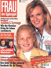 FRAU IM SPIEGEL Nr. 51 von 1995, Cover Andrea L'Arronge; Roger Whittaker uvm