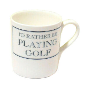 I'd rather be PLAYING GOLF Mug