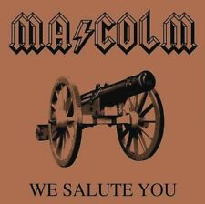 AC/DC - 'Malcom Young' We Salute You Heavy Metal Sticker or Magnet