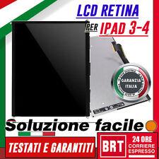 DISPLAY LCD RETINA PER APPLE IPAD 3 4 A1430 A1416 A1403 SCHERMO MONITOR_24H!+KIT
