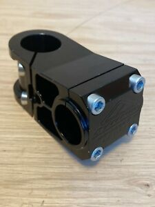 NOS Azonic Shorty Deluxe CNC stem, black, 60mm, 25.4, 1 1/8th, 5° rise, USA, MTB