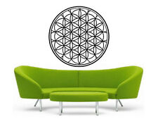 Flower of Life Decal | Rainbow Vinyl Wall Sticker | Sacred Geometry |Holographic