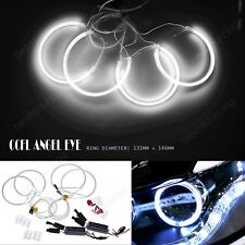 Kit FEUX PHARE AVANT CCFL ANGEL EYES BMW E46 Blanc Xenon 7000K 2x131mm+2x146mm