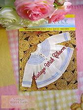 Vintage Knitting Pattern Baby's Sweet Matinee Coat. 2 Sizes. FREE UK P&P