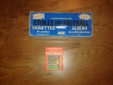 Etoiles du Football 70 Agéducatif avant panini pochette packet sticker+boite box