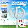 3500W 12/24V Wind Power Turbines Generator 5 Blades Horizontal Charge