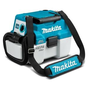 Makita DVC750LZX1 18V Vac Cordless Brushless Wet/Dry Vacuum Dust Extractor