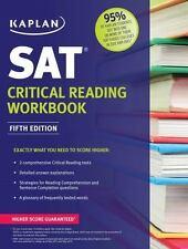Kaplan SAT Critical Reading Workbook Kaplan Test Prep
