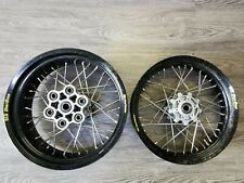 Cerchi a raggi D.i.D Dirt Star Ducati  ant 17 x 3.50 post 17x 5.50 wheels