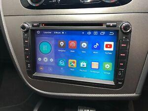 OE Spec Android 10 OCTA SATNAV Stereo VW volkswagen Golf Skoda SeatSony DVD CD
