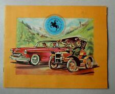 Album Chromos/ Chocolat Jacques Eupen/ Automobiles - complet