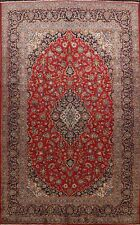 Vintage Traditional Ardakan Area Rug Hand-Knotted Living Room Large Carpet 10x14