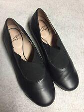 Dansko Womens Black Leather Slip On Casual Work Shoes Size Sz 39 U.S. 8 M