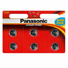 Panasonic Cr2025 Dl2025 3-Volt Lithium Coin Cell Batteries