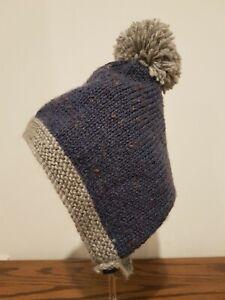 Knitted Baby Pixie Bonnet Hat Beanie / Handmade