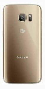 Samsung Galaxy S7 SM-G930 - 32GB - Gold Platinum (AT&T) Smartphone Open box