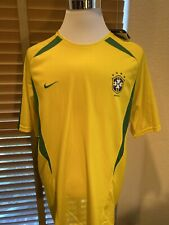 Nwt Nike Cbf Brasil Brazil Soccer Futbol Jersey Size Xl. P11681