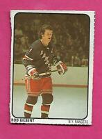 RARE 1974-75 RANGERS ROD GILBERT LIPTON SOUP  CARD (INV# C3863)
