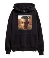 Nas It Was Written Hoodie Hip Hop Rap Sweatshirt illmatic Nasir merch New Black