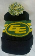Edmonton Eskimos CFL Football  beanie toque hat Canadian Club Whiskey sponsor