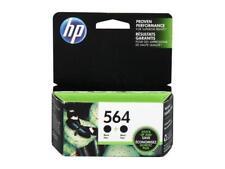 HP 564 Ink Cartridges 2-Pack (C2P51FN#140) -  Black